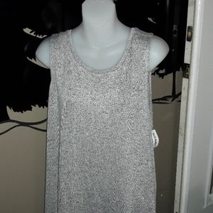Womens sz XL Old navy soft long style tank NWT